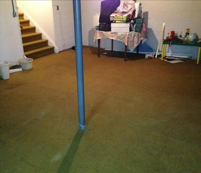 Basement Flooding Due to Rain Storms  After