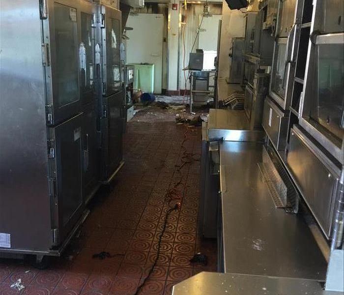 Commercial Fast Food Restaurant Fire Clean in Canton, MI  Before