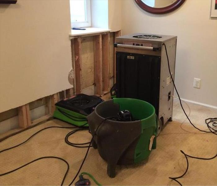 Drying Equipment Placed at Rochester Hills, MI Home